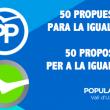50 propuestas para la igualdad