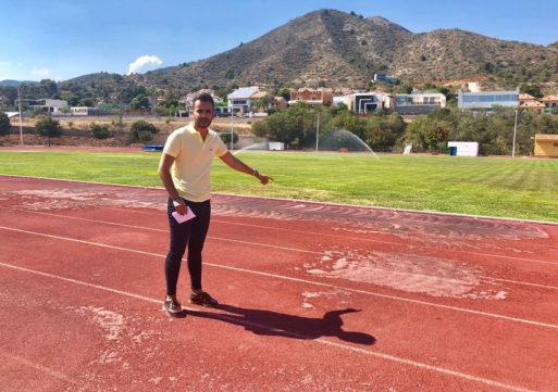 El PP reclama reparar las pistas de atletismo de la Vall ante el abandono del equipo de gobierno