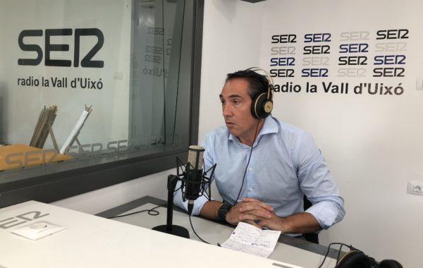 """Rubén Ibáñez: """"Con Puig los castellonenses somos más pobres, pagamos más impuestos y estamos más endeudados"""""""