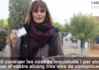 Carolina Castelló vol conéixer les teues inquietuds