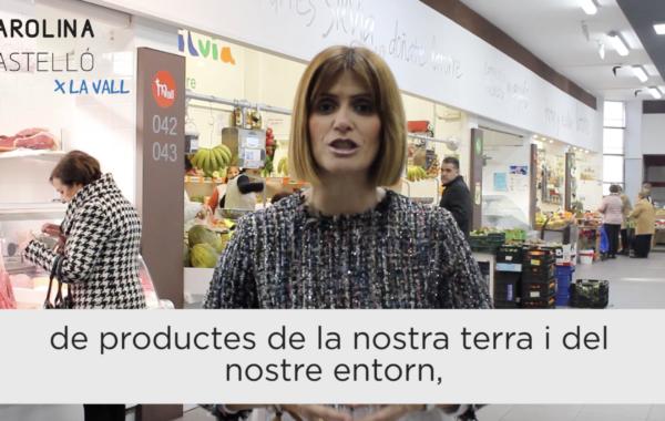 """Carolina Castelló: """"Vull fer del mercat un punt de trobada social, culinari i gastronòmic per a tots els vallers"""""""