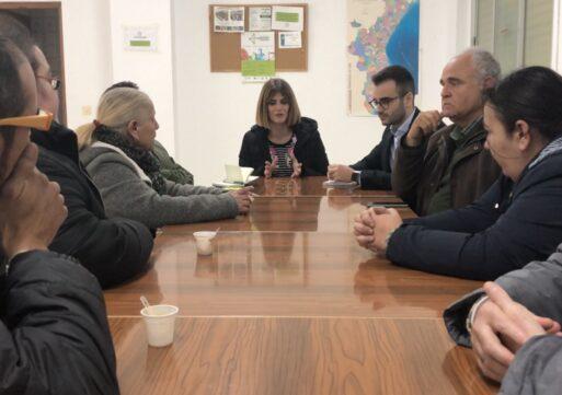 Carolina Castelló recoge las demandas de La Moleta