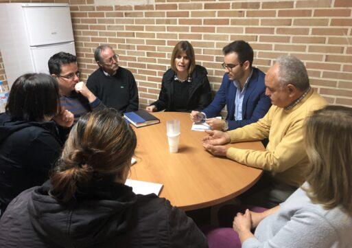 Carolina Castelló se reúne con la asociación de vecinos del barrio Toledo