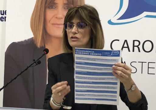 Carolina Castelló presenta un código de transparencia y gobierno abierto